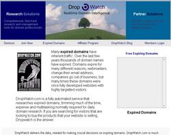 Сайт dropwatch.com