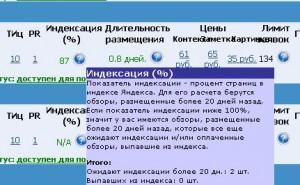 Индексация обзоров Яндексом