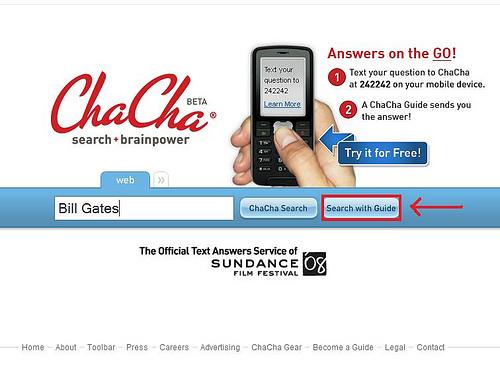 Поиск от Chacha